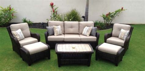 kula sofa lounge furniture hawaiian style event rentals