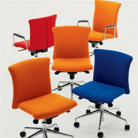 bright colored desk chairs modern and comfortable office chair with various fresh