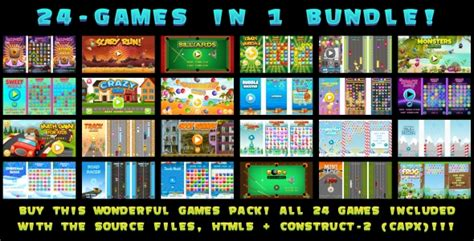 games themes pack 24 games in 1 bundle capx theme for u