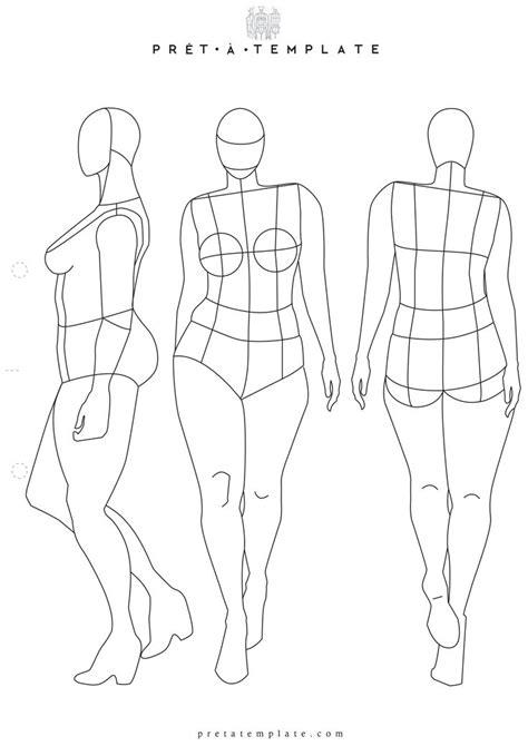 fashion illustration measurements plus size figure fashion template d i y your own fashion sketchbook