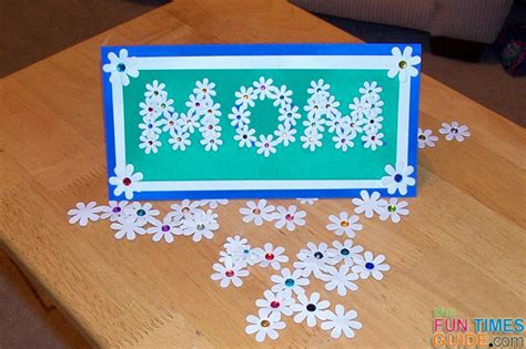 make mothers day card how to make a mothers day card of flowers times