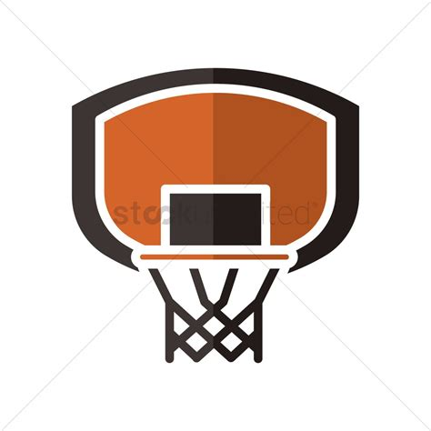 basketball hoop backboard basketball backboard and vector image 1979143