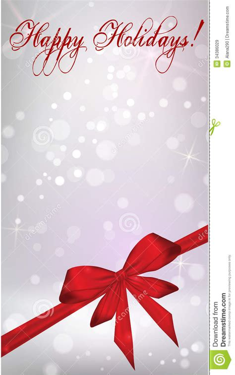 christmas wallpaper vertical vertical background with red ribbon bow stock vector