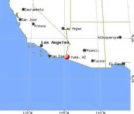 yuma arizona map state map yuma arizona surrounding area