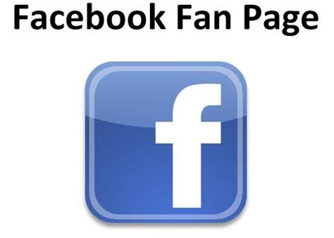 Fb Fan Page | facebook fan pages how to create a facebook fan page html