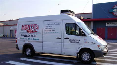 montes   fleet  trucks delivers  catering halls