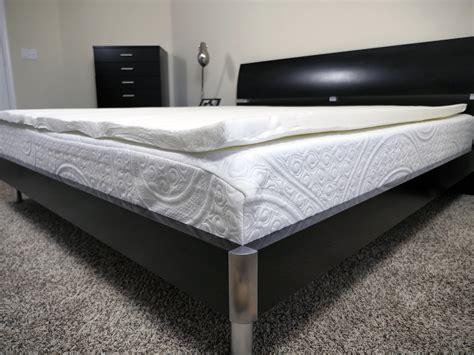 memory foam bed reviews eluxurysupply memory foam topper review sleepopolis