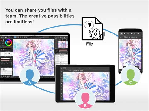 drawing tool app medibang paint drawing android apps on play