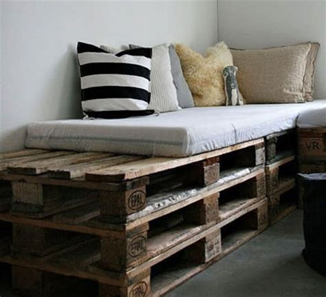 make sofa out of pallets home dzine green living what can you do with an old pallet