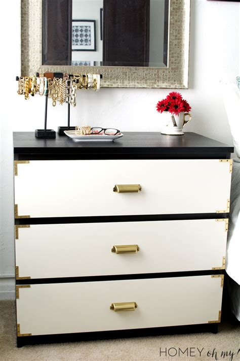 malm dresser painted white ikea dresser hacks and transformations