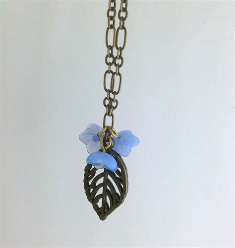 Chicago Handmade Jewelry - chicago handmade jewelry flower necklace