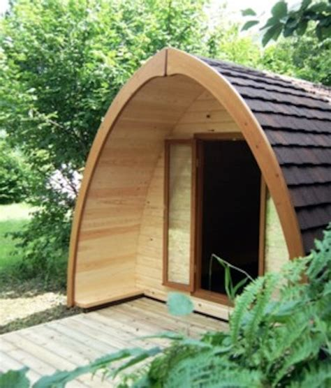 pod tiny house rounded a frame tiny house inspired by the pod