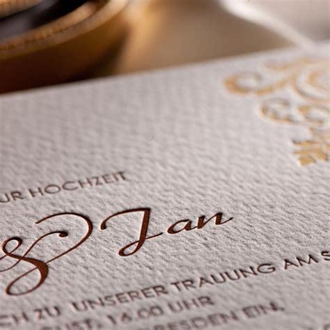 Hochzeitseinladung Letterpress Letterpress Hochzeitseinladung Quot Chateau Quot Weddix De