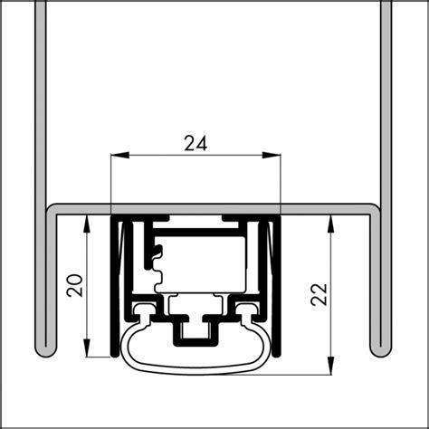 tür aluminium automatische t 252 rboden dichtung tb111 l 228 nge 680 mm