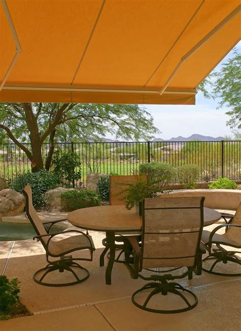 shade awnings for patios retractable shade awnings landscaping network