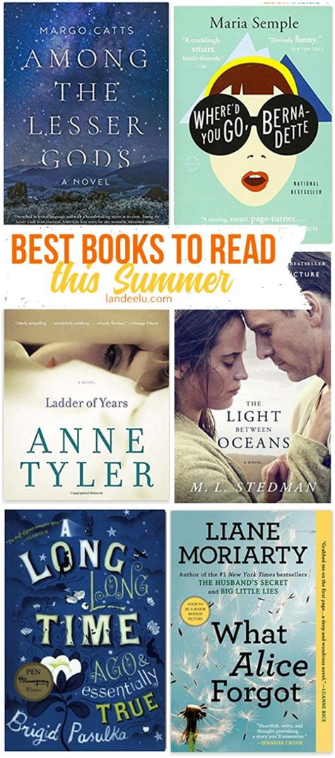 Best Books For Pool Side Reading by Best Books To Read This Summer Landeelu