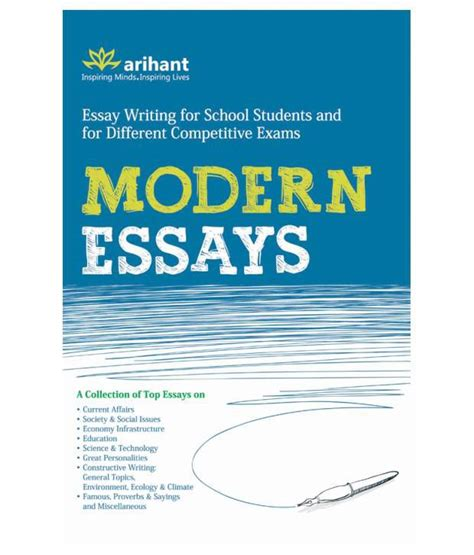 Modernist Essay by Modern Essays Paperback Buy Modern Essays Paperback At Low Price In