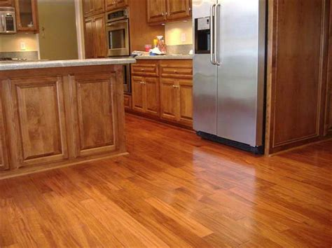 Wood Kitchen Floors Best Flooring For Kitchen Casual Cottage