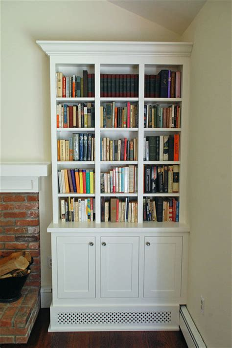 bookcases for living room shaker style bookcases traditional living room new