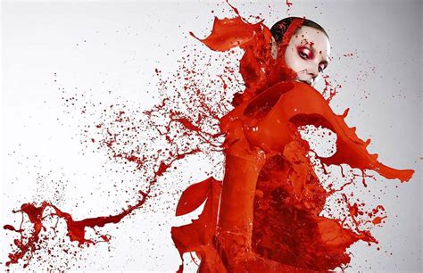 art beauty camera clothes fashion splash human paint art xcitefun net