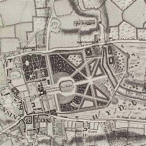 john rocque map  london  stdibs
