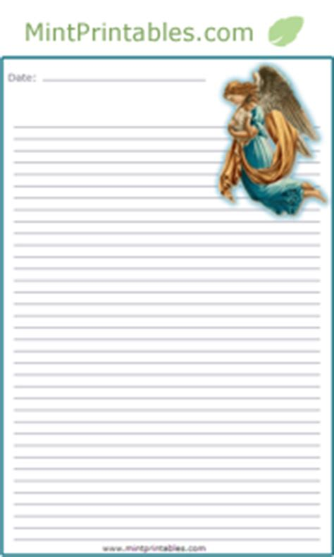 printable angel stationery free printable angel stationery
