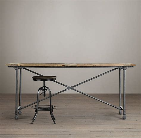 Restoration Hardware Bar Table Pin By Alyssa Harvey On For The Home Pinterest