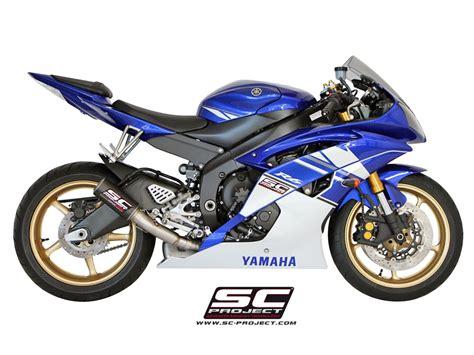 Sc Project Exhaust Yamaha R1 2016 Crt Titanium 1 sc project exhaust yamaha yzf r6 cr t silencer 2006 2016