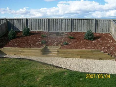 how to make a sloped backyard flat landscape sloped backyard pictures this slope was