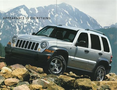 jeep liberty catalog 2006 jeep liberty sport special edition brochure catalog