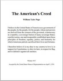 american s creed by william tyler page student handouts