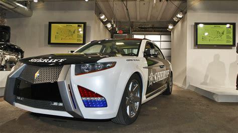 carbon motors car carbon motors e 7 cop car heads to bankruptcy auction