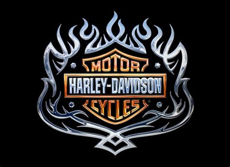 Kaos 3d Umakuka Original C O C 7 harley davidson emblems on behance decoupage prints