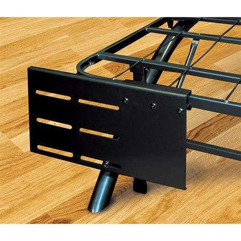 Headboard And Footboard Brackets by Rest Rite Dome Arc Black Headboard And Footboard Brackets