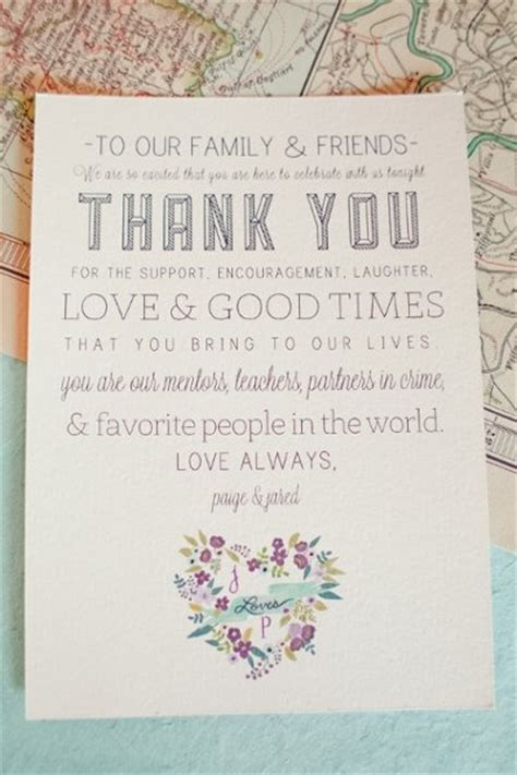 thank you notes for wedding gifts timeline thank you note for your guests wedding ideas