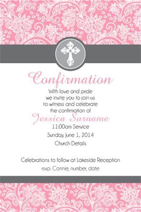 confirmation invitation cards template communion invitations confirmation invitations pepixel