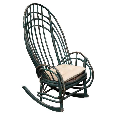 Willow Chairs by Willow Rocking Chair At 1stdibs