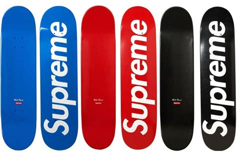 supreme boards supreme logo skateboards doobybrain