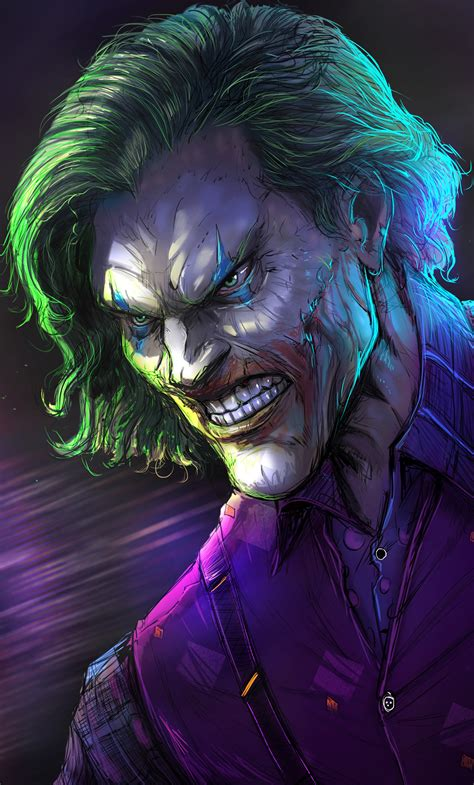 joker artwork   iphone  hd  wallpapers