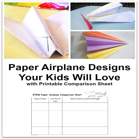 how to make flier paper airplane designs your kids will love jdaniel4s mom