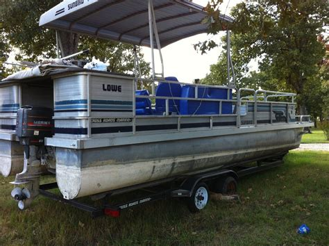 lowe sunbird 24 1988 for sale for 2 500 boats from usa