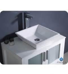 fresca torino 30 x 18 modern bathroom vanity fvn6230wh vsl