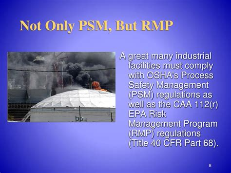 40 cfr part 68 section 112 r ppt process safety management of highly hazardous