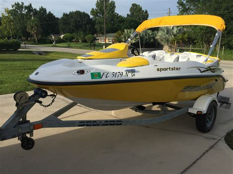 sea doo wave boat for sale sea doo sportster 2006 for sale for 5 500 boats from