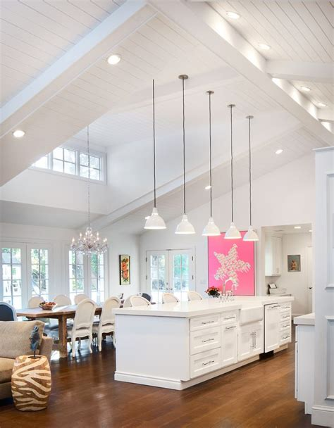 best 25 vaulted ceiling kitchen ideas on