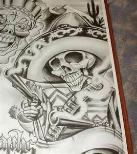 cartoon gangsta tattoo boog cartoon gangster chicano tattoo mister flash book