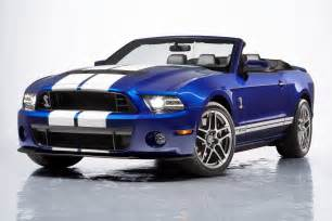 2013 Ford Mustang Gt500 2013 Ford Shelby Gt500 Convertible Pictures And Details