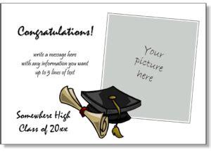graduation announcements printable graduation invitations graduation announcement templates