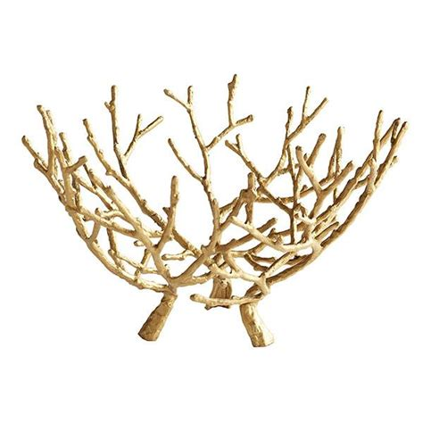 gilt branches sculpture