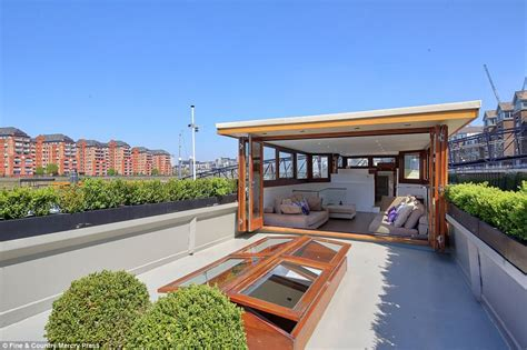 three bedroom boat three bedroom thames barge goes on market for 163 1 1m